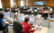 El 112 atiende un 8% más de llamadas en los meses de junio, julio y agosto