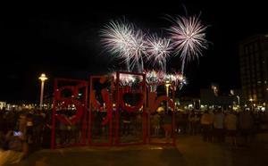 Noche por todo lo alto en Gijón
