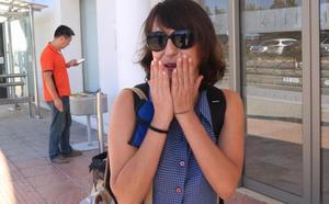 Juana Rivas se reencuentra con sus hijos en Italia