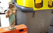 La Virgen abandonada