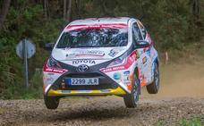 El Toyota Aygo debuta en asfalto en la Subida a Riego de Ambrós