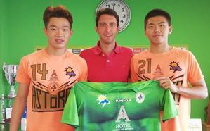 El Astorga se queda con los dos jugadores chinos a prueba
