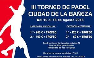 Un torneo de pádel en La Bañeza acaba en denuncia por discriminación a las mujeres