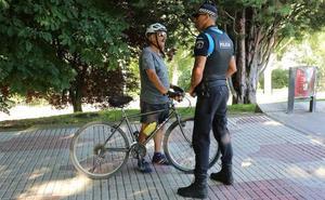 La campaña de la nueva ordenanza de bicicletas en León finaliza con 208 ciclistas informados