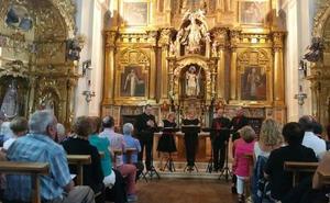 Ars Poliphonica 'celebra' la reapertura del monasterio de Santa María de la Asunción de Villoria de Órbigo