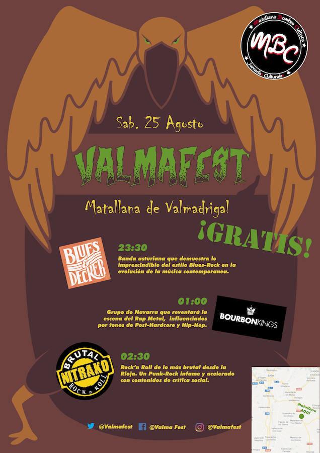 Matallana de Valmadrigal 'bombea cultura' en sus fiestas estivales