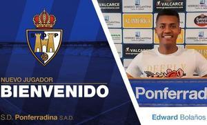 La Deportiva cierra el acuerdo para incorporar al delantero sub-23 Edward Bolaños