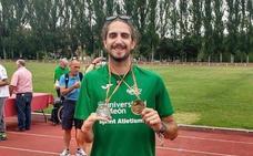 Dani Pérez busca la medalla en salto de altura