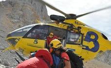 Herido grave un montañero tras sufrir una caída en Picos de Europa