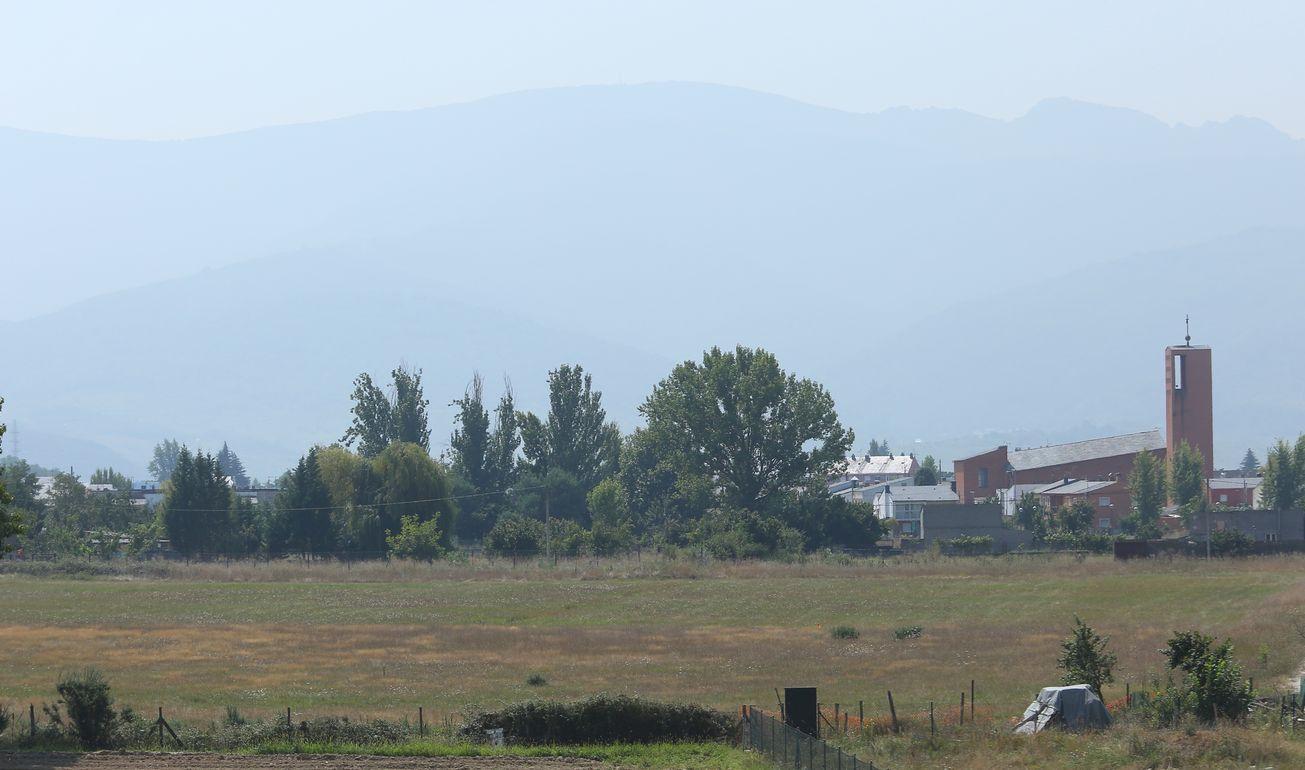 Calima y peregrinos en el Bierzo