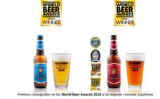 Doble premio para Kadabra en los World Beer Awards 2018