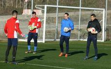 David Gómez continuará defendiendo la portería de la SD Ponferradina
