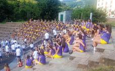 Cangas de Narcea se rinde al décimo aniversario del campus organizado por Agustinos Eras