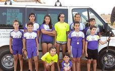 Siete medallas para el Club Bañezano de Piragüismo en Tordesillas