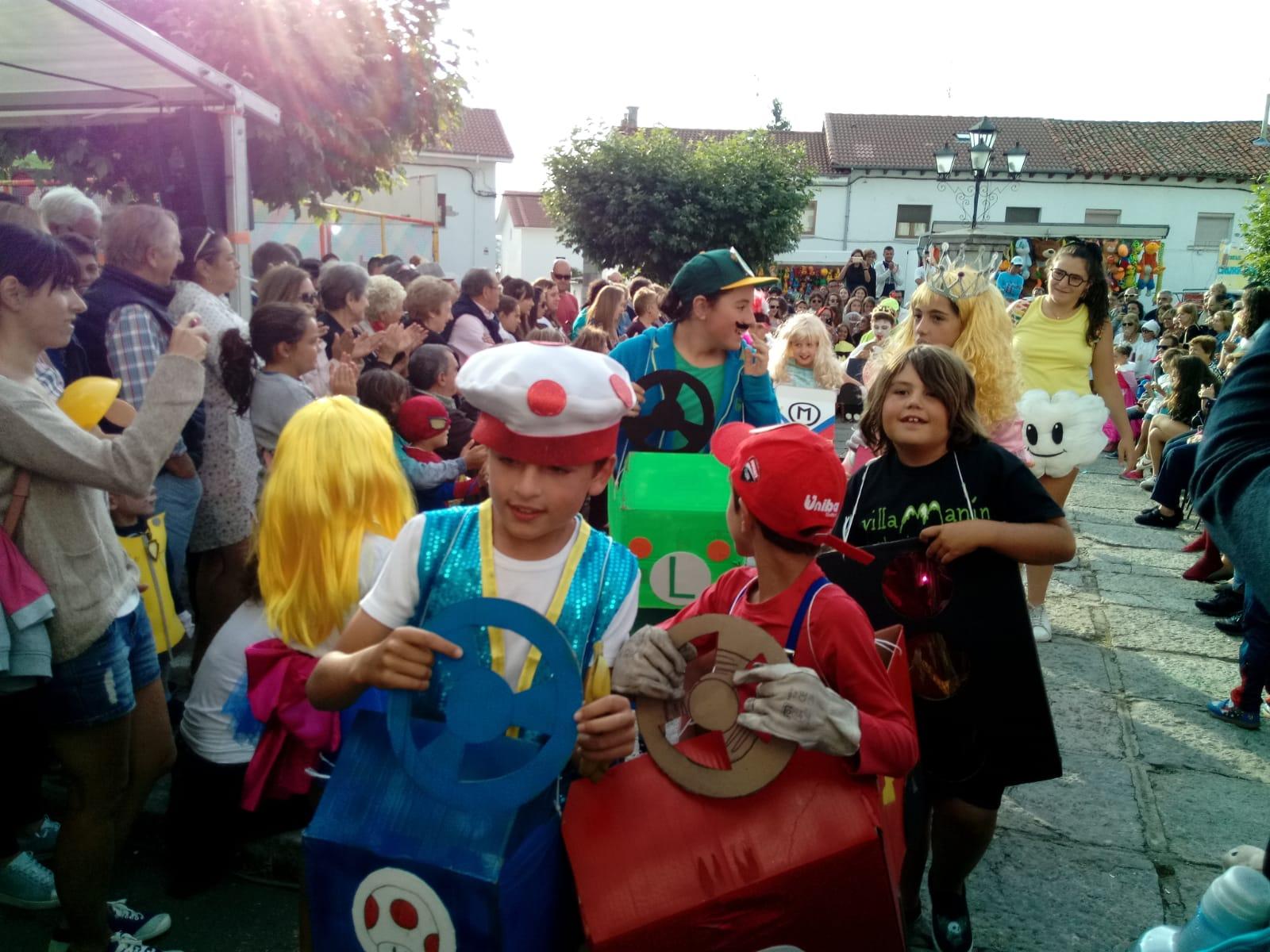Grandes fiestas en Villamanín