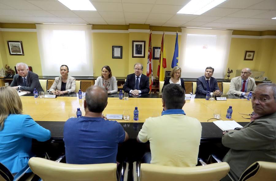 Cumbre en Valladolid sobre la crisis de Vestas en León