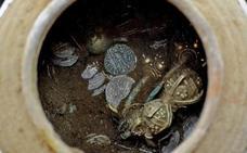 Descubren en Bulgaria tesoro de 'Ali Baba Tártaro' del siglo XIV
