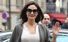 Angelina Jolie busca otro papel en el divorcio