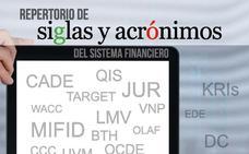 La página web del Proyecto Edufinet de Unicaja ofrece un registro actualizado con casi 3.000 siglas y acrónimos financieros