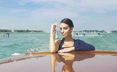 Georgina Rodríguez no se pierde la Mostra de Venecia