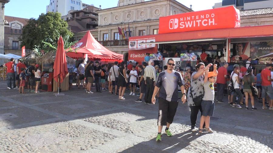 La magia de Nintendo llega a León