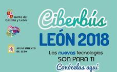 El Ciberbús arranca el 10 de septiembre en la capital leonesa con talleres sobre uso y manejo de dispositivos móviles