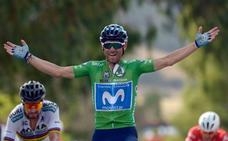 Valverde gana otra etapa y se acerca al rojo