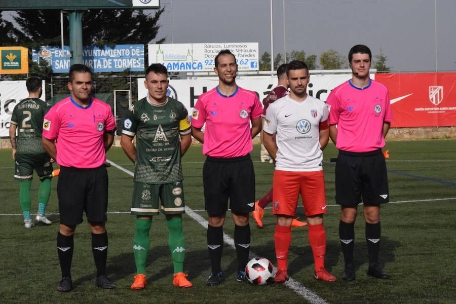 El Atlético Astorga cae ante el Santa Marta
