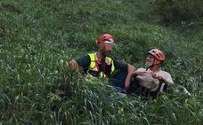 El Greim localiza y rescata al montañero extraviado en los Picos de Europa