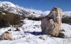 Piden protección y una investigación profunda para un menhir descubierto en la zona de Tejeira