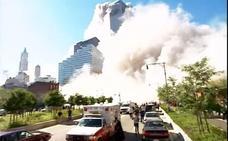 Sale a la luz un impactante vídeo inédito sobre el ataque a las Torres Gemelas
