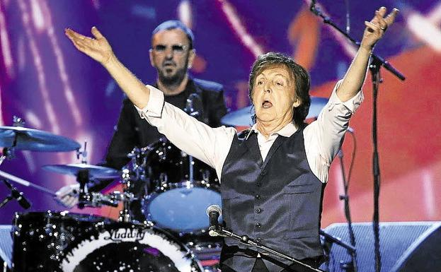 Paul McCartney durante un concierto en 2014./Reuters