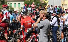 La Vuelta abandona León