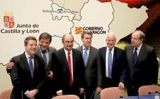 Castilla y León, Aragón y Asturias reclaman que una transición energética «justa» no sea «un precipicio» para estos territorios