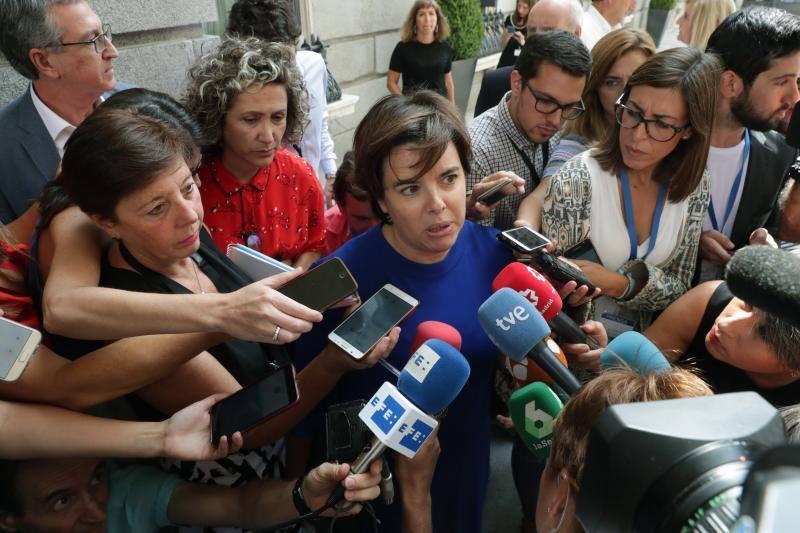 Sáenz de Santamaría abandona la política tras no encontrar encaje en el PP de Casado