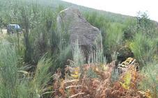 Cs reclama a la Junta conservar y poner en valor del menhir descubierto en Tejeira