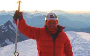El leonés Javier Alonso conquista el Mont Blanc a sus 65 años