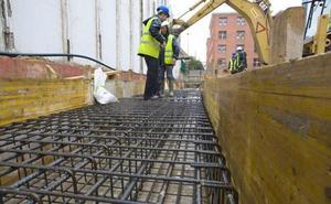 La construcción en León «sigue enferma» aunque con una tendencia optimista y signos de recuperación