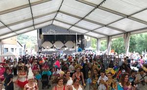 La Pola de Gordón celebra sus fiestas en honor al Santísimo Cristo