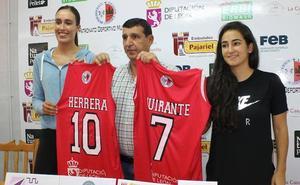 Laura Herrera y Alejandra Quirante ya ejercen como jugadoras del Embutidos Pajariel