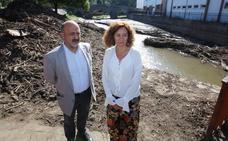 Confederación Miño-Sil destina 9.000 euros a las tareas urgentes de limpieza del cauce del Oza a su paso por Toral de Merayo