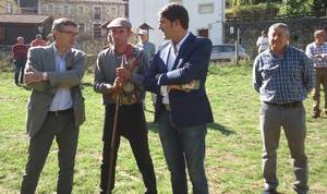 Suárez-Quiñones pone en valor la trashumancia en Picos de Europa y la labor de los pastores