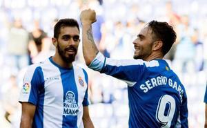 Sergio García lleva al Espanyol a puestos de Champions