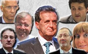 Diez semanas de 'Enredadera': dimisiones y plenos extraordinarios en cadena durante los 72 días en prisión de Ulibarri