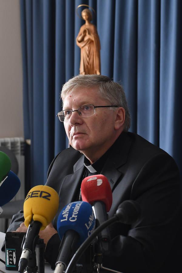 Comparecencia del obispo de Astorga sobre el presunto caso de abusos sexuales