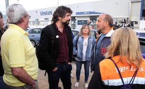 Sarrión pide retrasar el próximo pleno de las Cortes para que los grupos acudan a Bruselas junto a la plantilla de Vestas