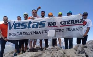 La lucha de Vestas llega a Picos de Europa