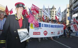 leonoticias. tv | Directo | León sale a la calle para exigir futuro para Feve