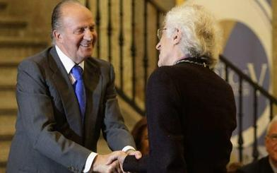 El mismo procedimiento se utilizó para aforar al rey Juan Carlos