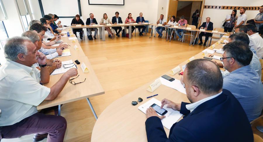 Reunión del Plan de Seguimiento de las Cuencas Mineras